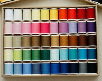 Lovely 50 Colors Thread, 400m each, A set of 50, U2582