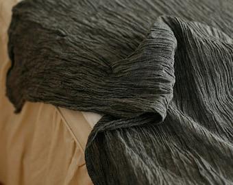 Natural Charcoal Vintage Style Gauze, U2595