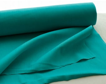 A Yard of Turquoise Linen blended, U2745