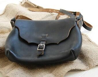 Special, Vintage Washing Leather in BLACK, U1021
