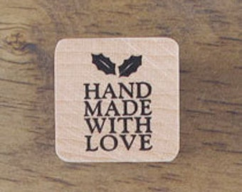 "Small Stamp ""Made with LOVE"" II, U2360"