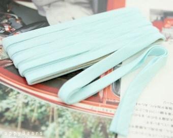Thin Knit Double fold  Bias, SKY , U3050