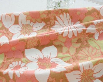 3 yards, Big Flowers on ASSA Cotton WIDE 136cm, U3208