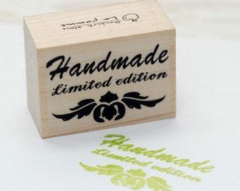 Limited Edition, Handmade stamp, U3215