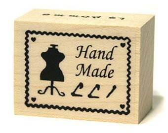 Handmade Stamp with Mannequin, U3216