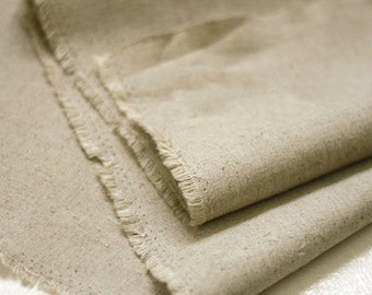 Basic colored linen Wide 142cm, Basic Oatmeal Linen, SonSu001