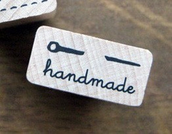 SALE, Vintage Needle with HANDMADE Stamp, U1380