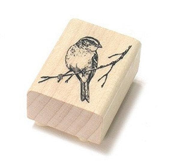 Antique Sparrow Stamp, U1927