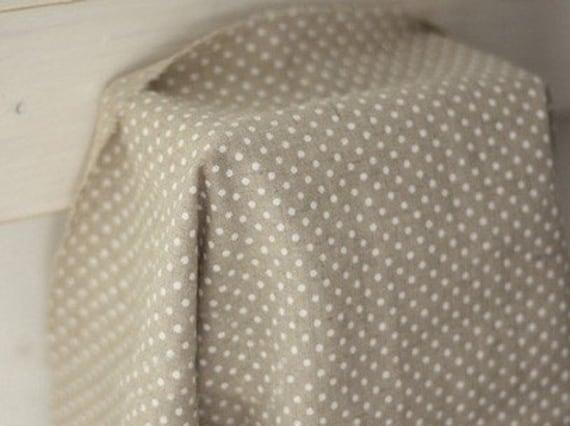 White Dots on Linen Blended, U1036
