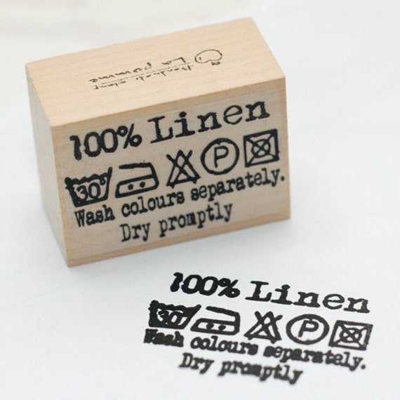 """Lovely Sewing stamp for """"Pure Linen"""""""
