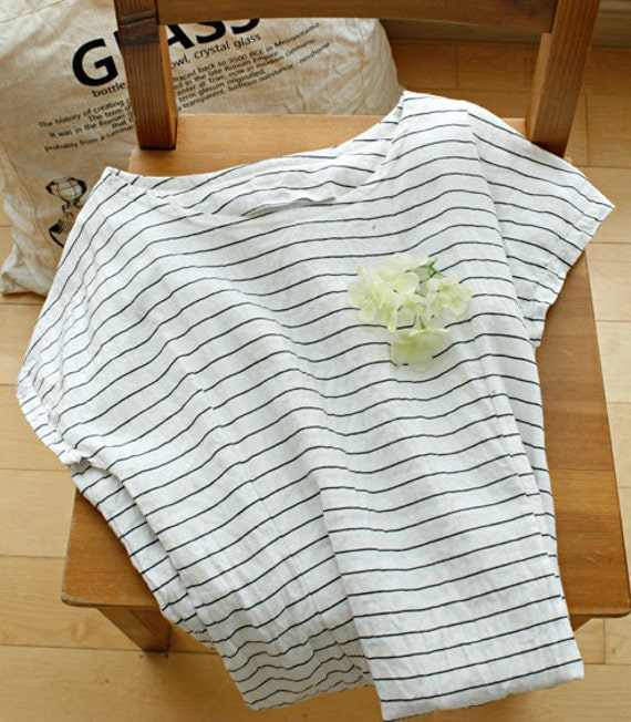 Black  Stripe and Pure Linen, U2417