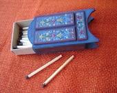 Folk Style Painted  Matchbox Furniture
