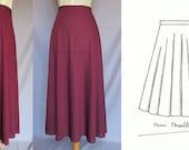 "NEW ""Half-cirlre skirt"" pattern.-"