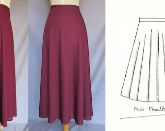 "NEW ""Half-cirlre skirt"" pattern.-"