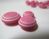 Buttons - Pink Vintage buttons, set of 30
