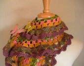 30% OFF Crocheted Scarf No 32