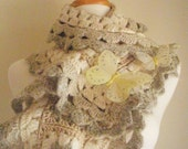 30% OFF Crocheted Scarf No 11