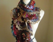 30% OFF Crocheted Scarf No 24
