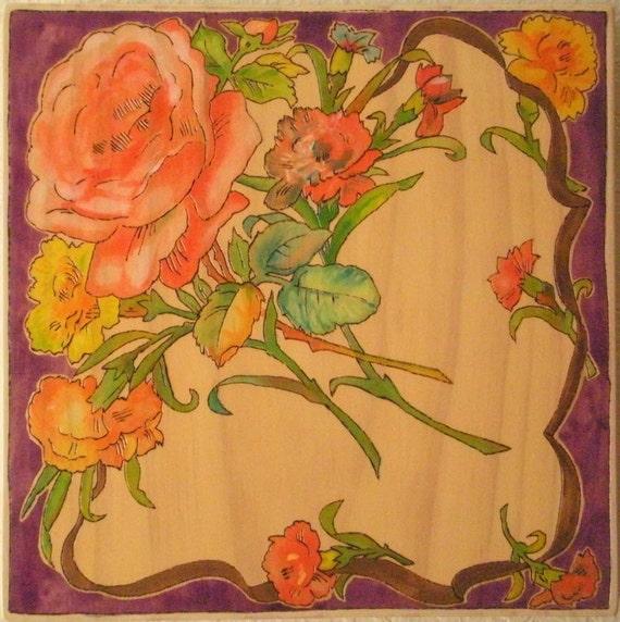 M a r i a n n e: Vintage Hankie Wall Art