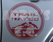 Jeep Trail Hated Decal