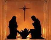 Nativity - Baby Jesus, Mary and Joseph