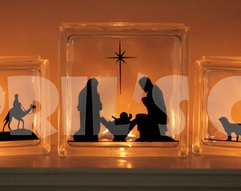 Three Scene Nativity