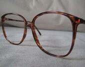 Tura Tortoise Shell eyeglasses/sunglasses frames vintage 1980's