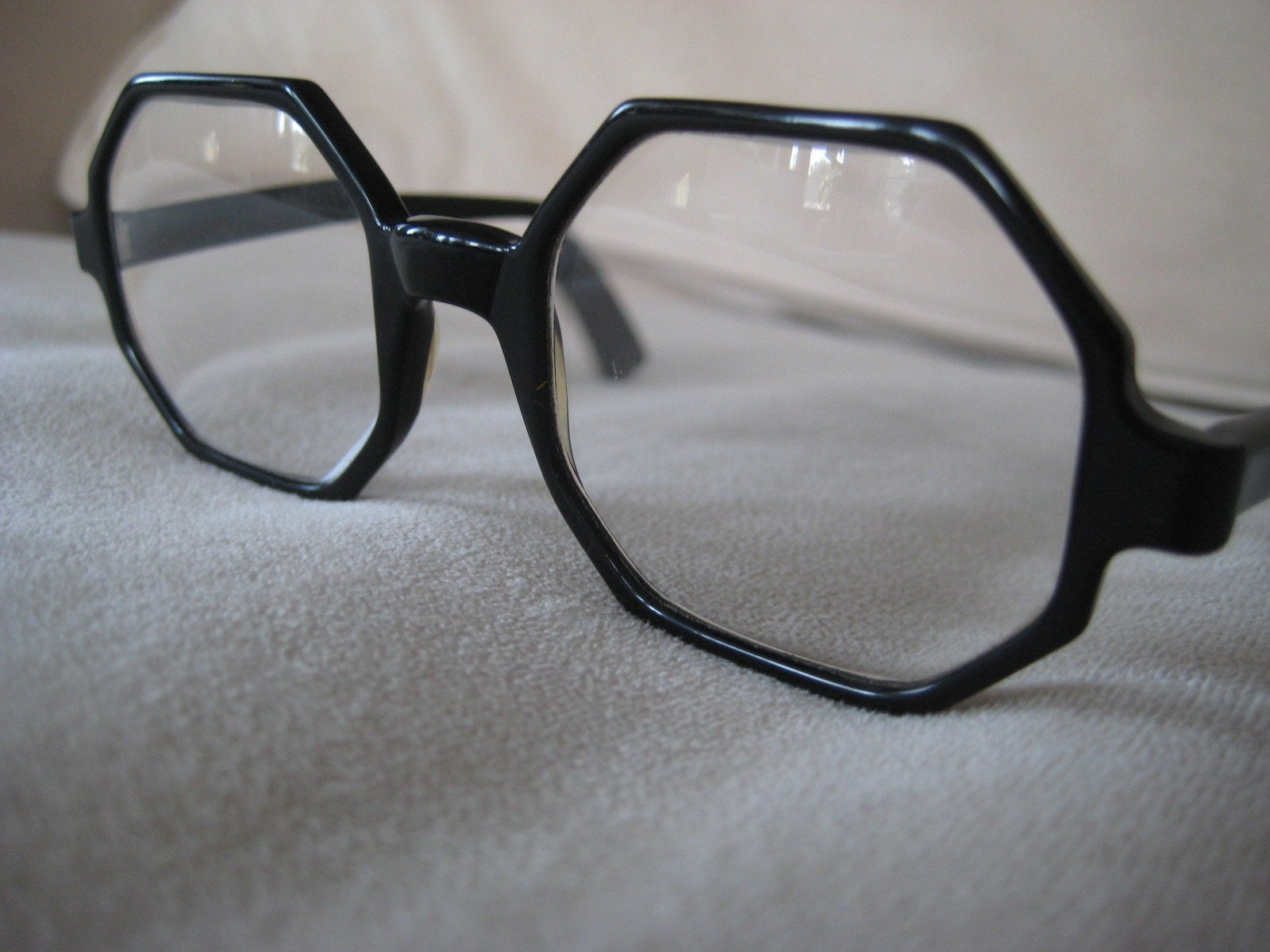 Bausch And Lomb Octagon Shaped Eyeglasses Vintage 1950 S