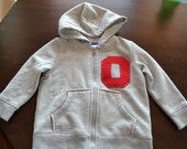 Ohio State Hooded Sweatshirt, Size 12 Months