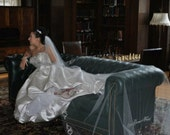 Marianna's Embroidered Royal Cathedral Veil