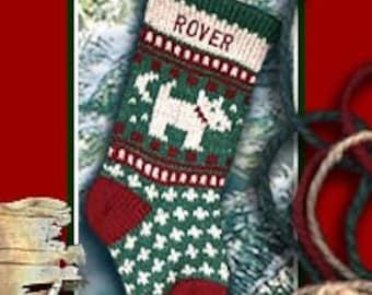 Personalized Christmas Pet Christmas Stockings - DOG
