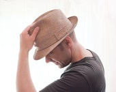 Vintage Sandy Shores Biltmore Fedora Hat