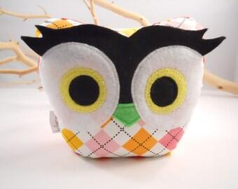 bellamina's owl bookend / doorstop / paperweight
