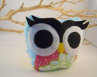 bellamina's bookend / doorstop / paperweight plush owl