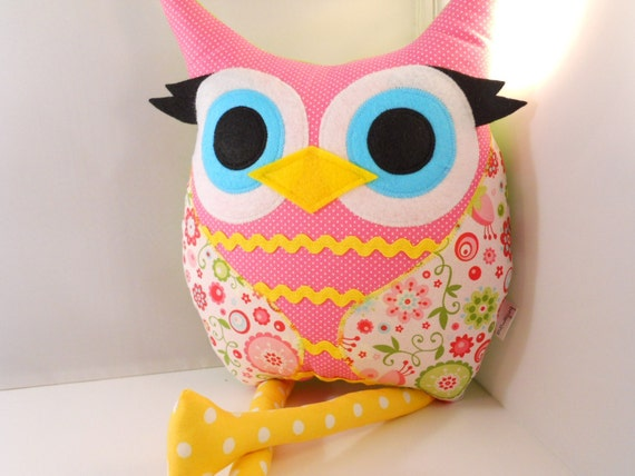 Christmas gift  for Kids BabyToddler  Owl Pillow Plush Stuffed Toy