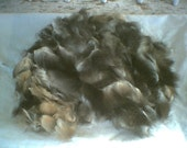 Possum Fiber for Spinning 100gms  / 3.52 ounces Standard Gray Fur  -one per customer only