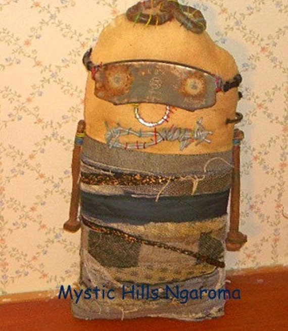 Steampunk Monster Art Doll Bruce the Punky Grunge