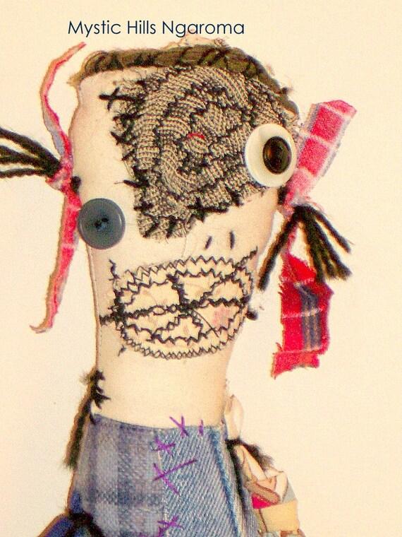 Monster Rag Doll - Mndy