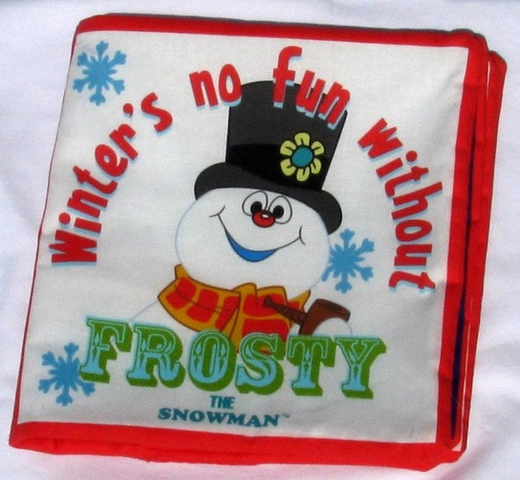 Frosty The Snowman by SnugglesNFun on Etsy