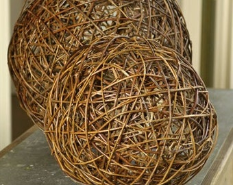 Hand-made vine ball - large