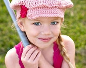 LSBV Girly Golf Cap Pink Infant-Adult Sizes Available