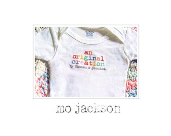 onsie / personalized onsie / the perfect baby shower gift