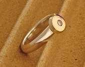 The smooth silver Ring.  Cat. R110