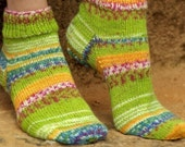 Hand Knit Ankle Socks - Made to Order