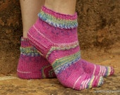 Hand Knit Socks for Her - Made to Order