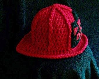 Baby Firefighter Hat - Bunker Gear - Baby Firefighter Turnout Gear - Firefighter Hat - Baby Firefighter Helmet - Firefighter Baby Hat