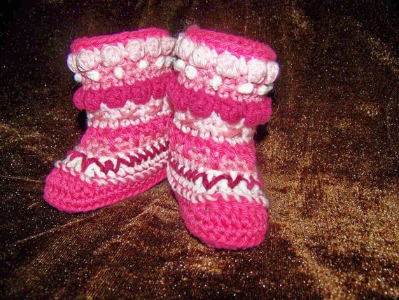Mukluks Boots Alaskan Native Boots Granny Boots Sizes Between Newborn and 24 Months