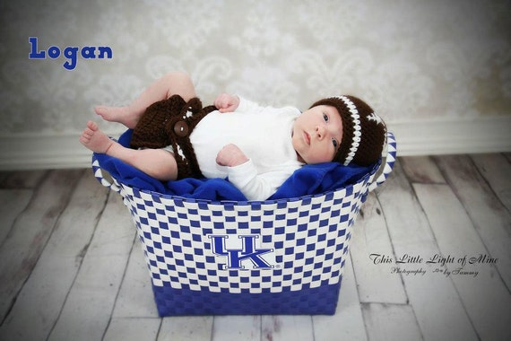 Baby Photo Props Football Hat You Pick The Colors And Size