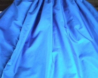 Any Solid Color PA'U SKIRT for Hula CUSTOM fit
