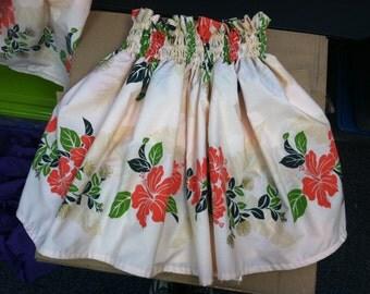 PRINTED Pa'u Skirt CUSTOM fit